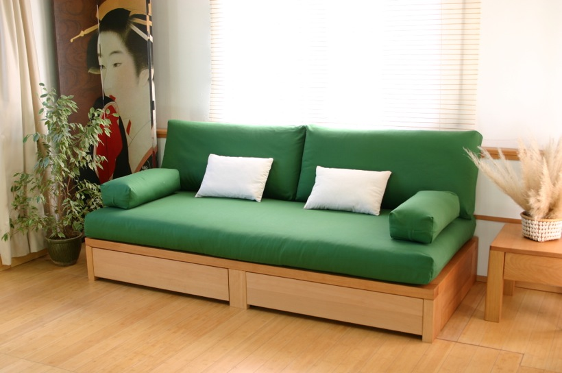 Living for Sofa cama con cajones ikea